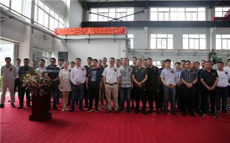 南通中星海洋科技公司开业暨荷兰SPAUWER公司自卸系统开工