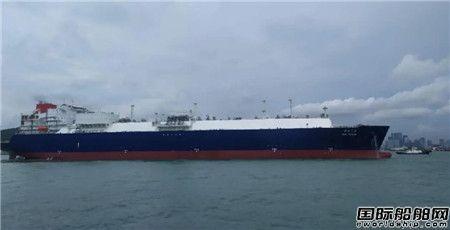 蛇口友联完成2020年首艘超大型双桨电推LNG船修理