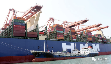 HMM超大型集装箱船创韩国海上供油新纪录