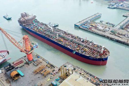 广船国际1号坞今年第3批次两艘船如期出坞