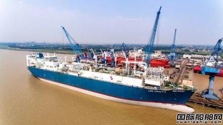 """华润大东完成国内首个LNG FSRU改装""""超级工程"""""""