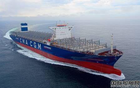 韩国船厂交付全球首艘LNG动力超大型集装箱船