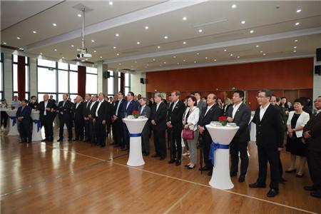 拉美和加勒比国家驻华使节代表团到访沪东中华长兴基地