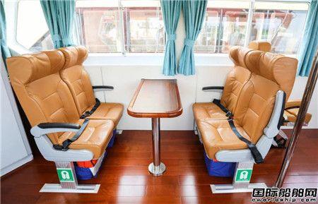 江龙船艇承建20米全铝合金引航船顺利交付