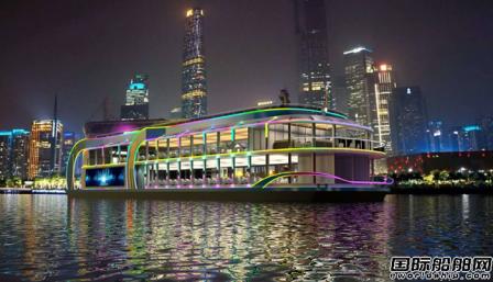 凯力船艇开建380客位新能源纯电动力豪华游船