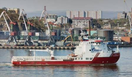 """俄罗斯供应船抵达德国将协助完成""""北溪2号""""项目"""