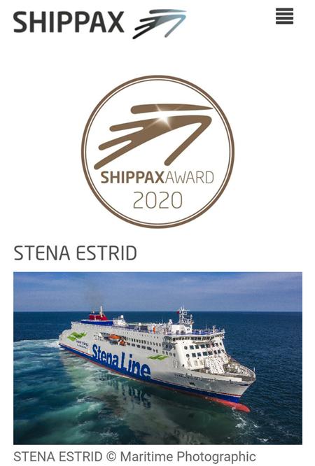 招商工业设计建造客滚船斩获SHIPPAX年度最佳概念设计奖
