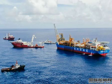 我国首个自营深水油田群开发工程项目投产