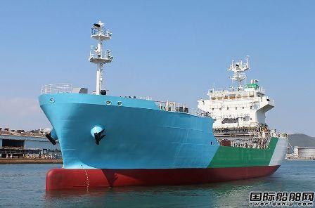 川崎重工建造日本首艘LNG燃料加注船命名