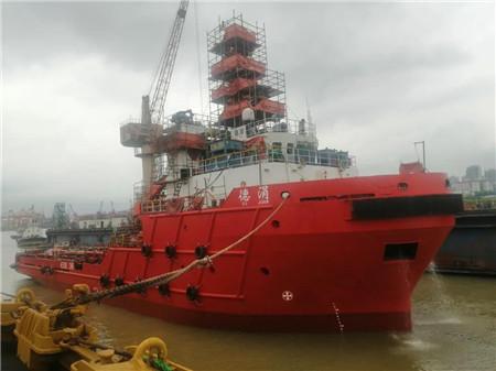 """广东中远海运重工顺利完成""""德涓""""轮坞修工程"""