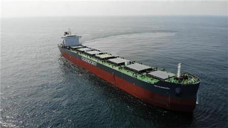 新韩通交付Oldendorff最后一艘82000吨散货船