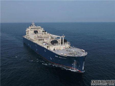 沪东中华建造全球最大LNG加注船在鹿特丹命名