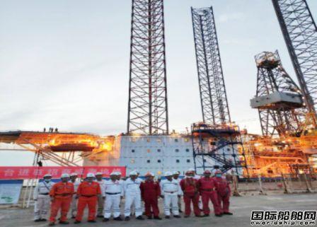 威海金陵再次承修中海油服海工平台