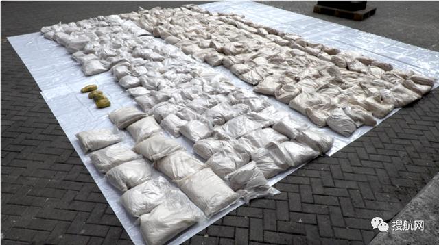 马士基一艘集装箱船英国被查获毒品价值超1.2亿英镑