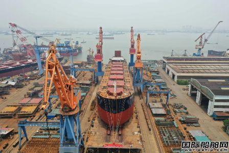 中船澄西交付SM集团最后一艘8.2万吨散货船