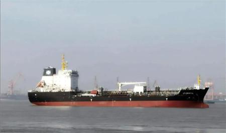 大洋海装一艘13000吨化学品船试航顺利返航