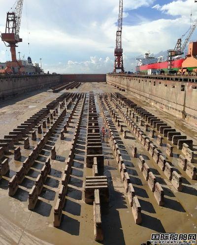 招商工业�I洲岛基地24小时内完成6艘船舶进出坞