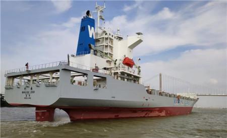 广东中远海运重工8月完成万海航运6艘集装箱船修理