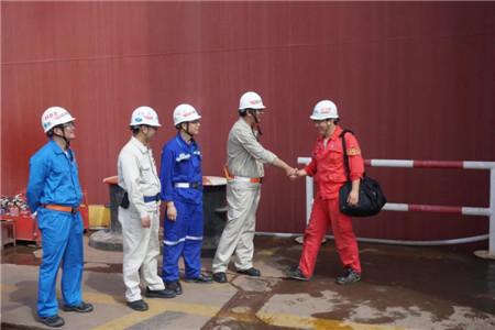 外高桥造船21万吨散货船H1516船试航凯旋