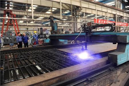 青山船厂武汉港化学洗舱站钢引桥项目顺利开工