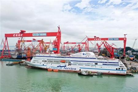 上海蓝魂交付国内最大豪华客滚船用闭式洗涤塔系统