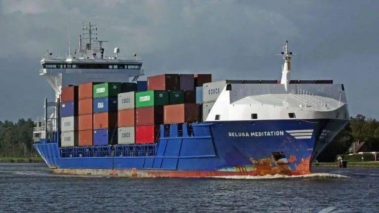 新加坡航运公司一艘集装箱船发生火灾