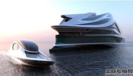 """船舶设计也疯狂!巨型""""天鹅""""游艇""""鹅头""""居然是艘船"""