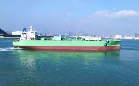 全球首例!招商工业完成首艘VLGC双燃料改造项目