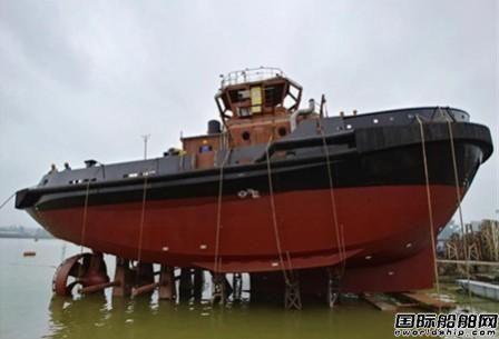 显利造船又一艘 RAstar3200-CL拖轮下水