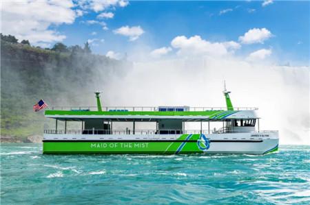 两艘采用ABB电力推进尼亚加拉大瀑布渡轮正式投入运营
