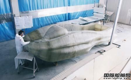 全球首艘3D打印玻璃纤维船亮相