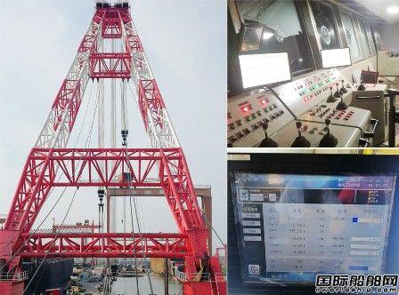 微特技术1600T起重船力矩限制器项目通过验收