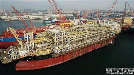 大连中远海运重工双节期间大干快上保生产保交付