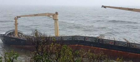 越南海域发现一艘遗弃集装箱船船体断裂船员生死存疑