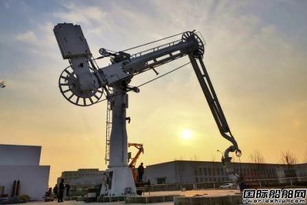 七一六所研制成功国产化极低温LNG高端装卸装备