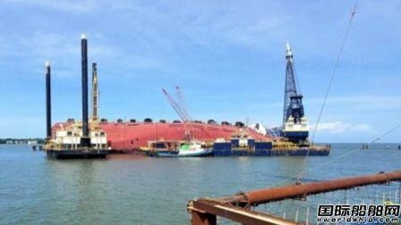 """韩国""""Golden Ray""""号沉船打捞工程再遭延迟"""