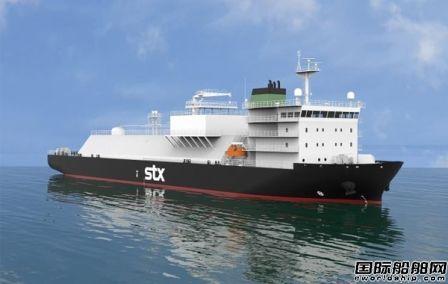 STX造船成功开发7500立方米级LNG加注船