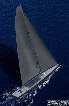 Royal Huisman推出全球最大单桅帆船