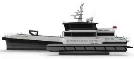 BAR Technologies联合Chartwell Marine获2艘CTV设计订单