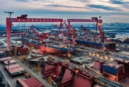 外高桥造船攻破键技术提升智能化和信息化服务水平