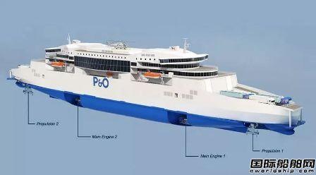 广船国际开工建造世界最大艏艉双向航行豪华客滚船