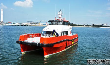 新加坡船厂Strategic Marine获英国船东2艘CTV订单