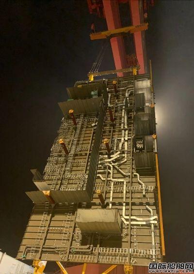 顺利翻身!外高桥造船大型邮轮建造工程突破关键技术