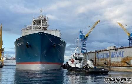 华润大东改装克罗地亚首艘FSRU抵达里耶卡