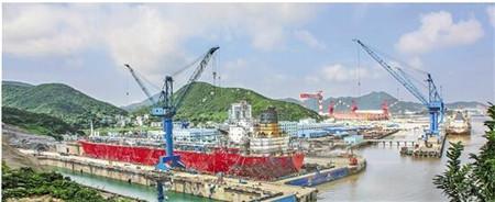舟山打造绿色修船样本修造船产值逆势上扬