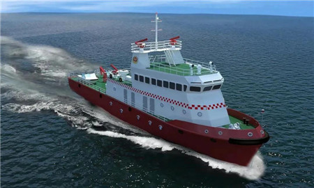 中船605院获三亚300吨级沿海型消防船设计项目