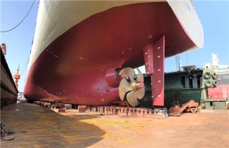 南通中远海运船务完成首个CPP改装项目