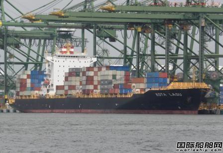 德翔海运收购太平船务一艘4253TEU集装箱船