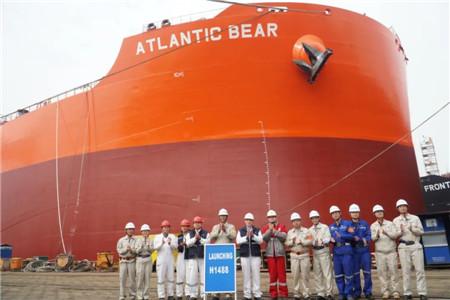 外高桥造船一天完成四大生产节点