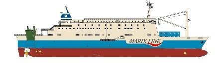 日本内海造船获Marix Line一艘客滚船订单